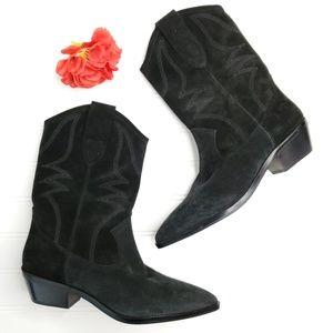 1849b89583e Rebecca Minkoff Western Style Mid Calf Boots --B15